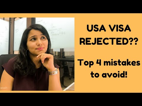 USA B1/B2 VISA Rejection Reasons For Indians 2019 |