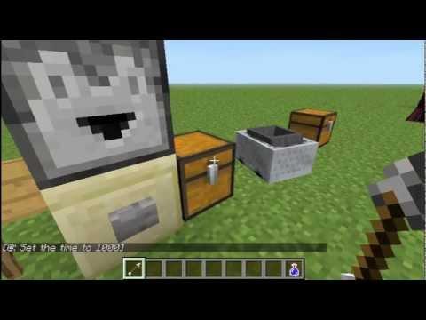 how to make a hopper minecart