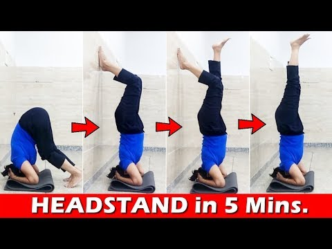 how to do headstand for beginners  benefits of headstand