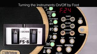 DR-01S Quick Start chapter3: How to Use the Advanced Features to Give Variety to a Song