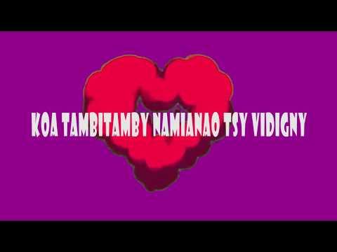 Vladine  - Tsy very    ( lyrics) nouveauté gasy  2018