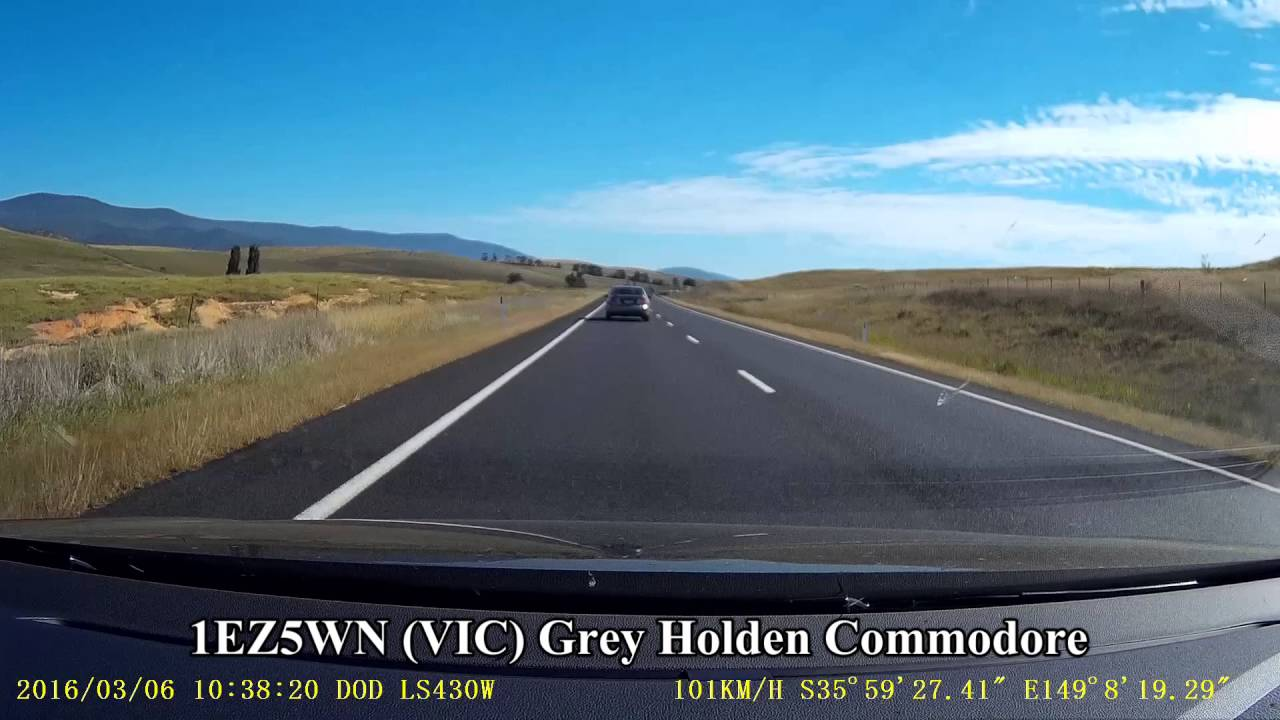 Monaro Highway - speeders and another near head on collision