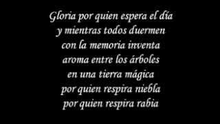 Gloria - Umberto Tozzi Spanish Version Letra