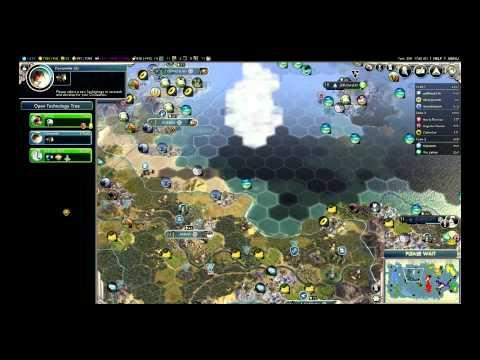 Civilization 5 Mul3player 3:19 - Nebuchadnezzar II (Babylon)