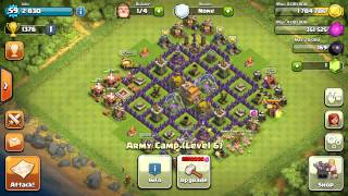 Clash of clans batter then sis and bro