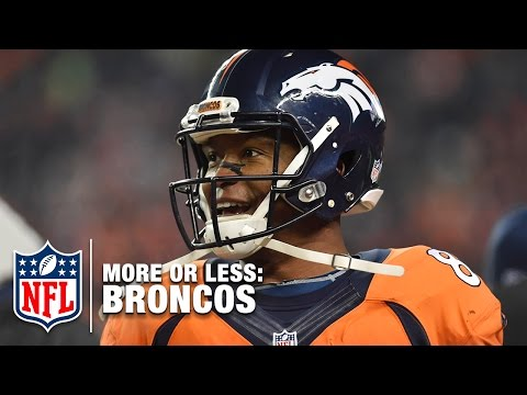 More or Less: Paxton Lynch 4 Starts,  Demaryius Thomas 1,300 Yards, & MORE! | Broncos Edition | NFLN