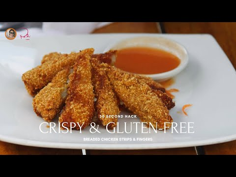 How to bread chicken tenders GLUTEN FREE for Metabolism Stanford Sci 45
