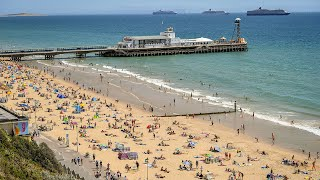 video: Beaches becoming 'unmanageable' as Britons opt for staycations