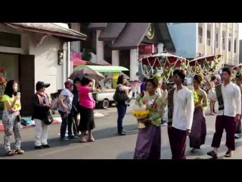 งานไม้ดอกไม้ประดับ เชียงใหม่ 7 กพ 2558 , Flower Festival 2015 Chiang-Mai Thailand