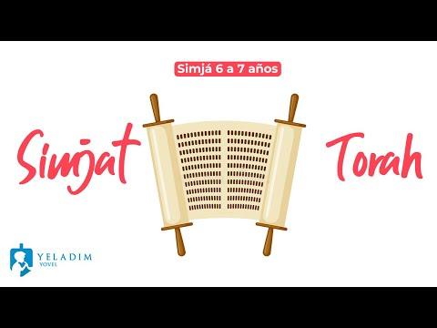 Havdalá Simjat Tora para Niños  - (6 a 7 años)