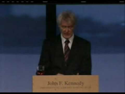 Padraig O'Malley speaks at JFK Library 2008