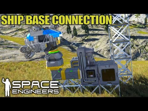 automation-connecting-ship-to-base- -space-engineers- -let's-play-gameplay- -e03