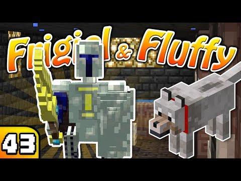 FRIGIEL & FLUFFY : LE CHEVALIER NOIR   Minecraft - S5 Ep.43