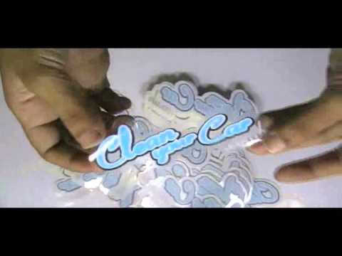 Die Cut Clear Vinyl Stickers Printing Services From - Clear vinyl stickers