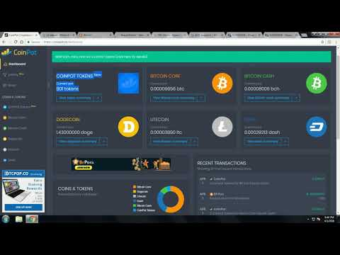 Coinpot Tips & Faucet Review. Earn FREE Cryptocurrency.