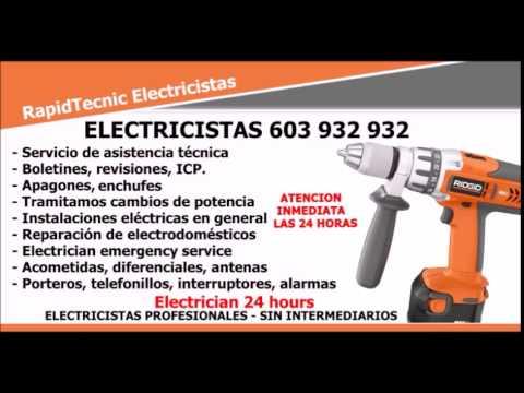 Electricistas La Garita, Las Palmas 603 932 932 Electrician