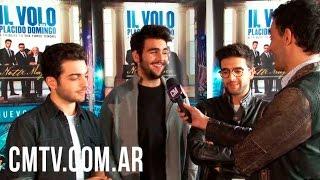 """Il Volo - """"Tributo a los Tres Tenores"""" (Entrevista CM Argentina)"""