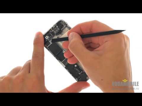 Замена динамика IPhone 4