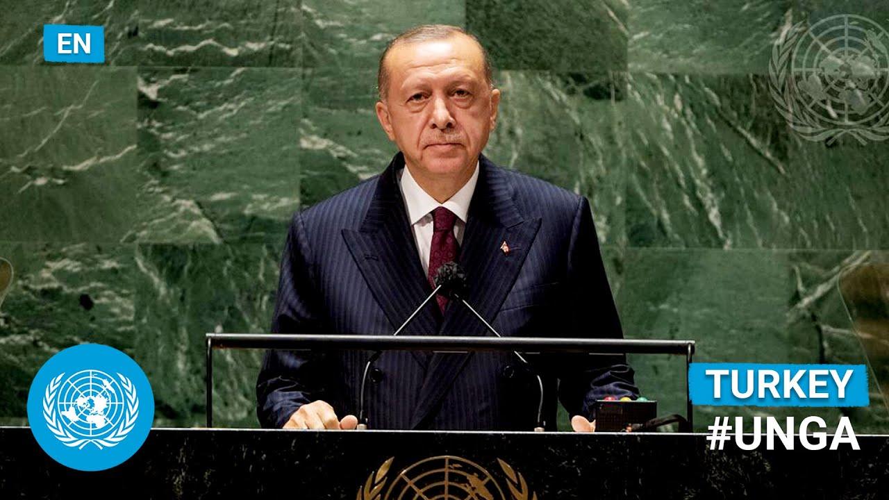 Download 🇹🇷 Turkey - President Addresses United Nations General Debate, 76th Session (English)   #UNGA