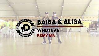 "Baiba & Alisa ""Whuteva by Remy Ma"" - IDANCECAMP 2015"