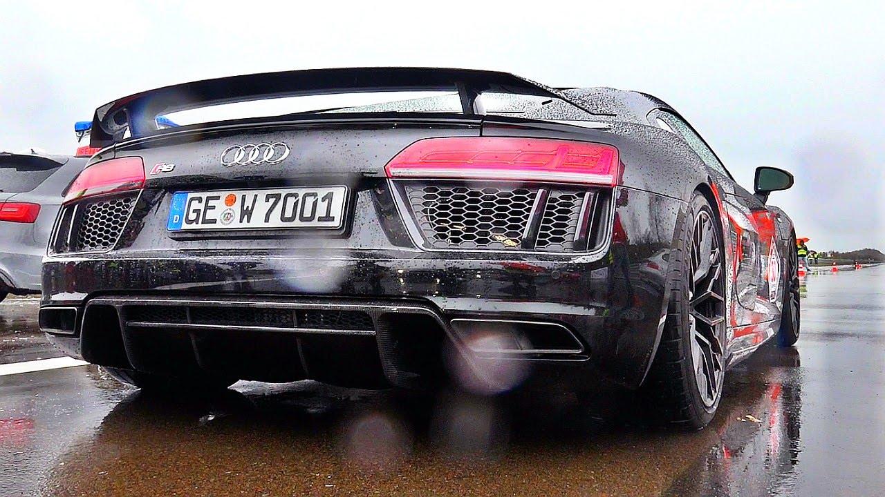 Brutal Loud 2016 Audi R8 V10 Plus Sound Youtube