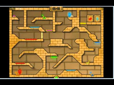 Fireboy And Watergirl 2 In Light Temple Cool Math Level 18