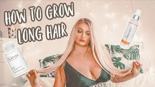 How To Grow Long Hair | My Favourite Tips & Products | Hair Care