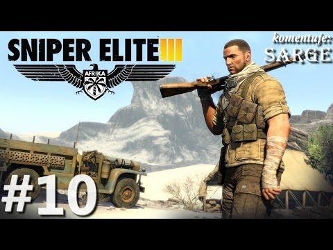 Zagrajmy w Sniper Elite 3: Afrika odc. 10 - Kwatera główna Vahlena
