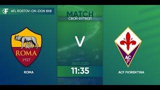 Roma 4 2 ACF Fiorentina 3 тур Италия