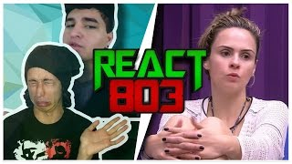React 803 OLHA ELA DESABAFO ANA PAULA BBB - Lukas Batista