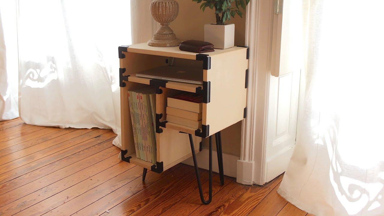 Connecteurs HYDLE - Fabriquer soi-même son meuble sans outil
