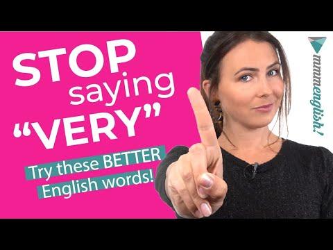 Upgrade Your Vocabulary ?? Better Ways To Say VERY... Happy / Sad / Good / Bad