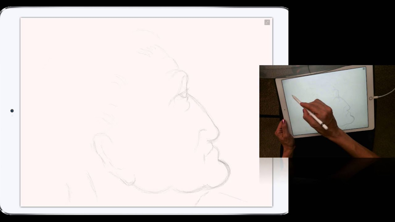 A 1st look at adobe photoshop sketch running on ipad pro w apple pencil