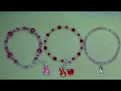 (Tutorial) Awareness Bracelets (Video 36) (Part 1)