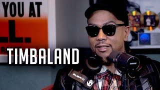 Timbaland Says No More Producers Anymore, Calls Drake The King + Greatest Artists He Worked With!