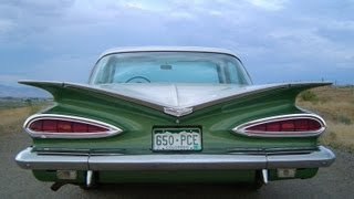 Driving a 1959 Chevrolet Bel Air 283 Stick Shift - ROAD TEST