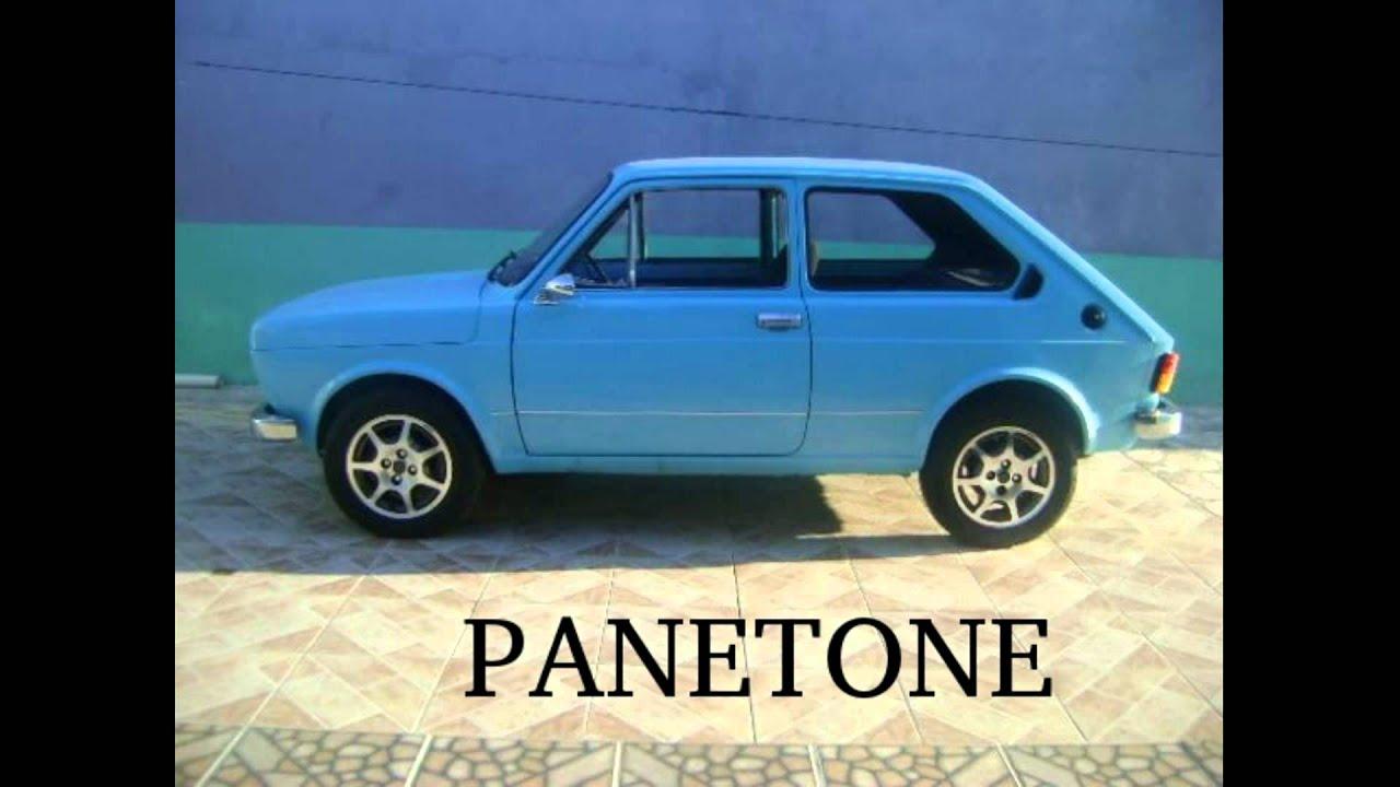 Panetone Fiat 147 Azul Youtube