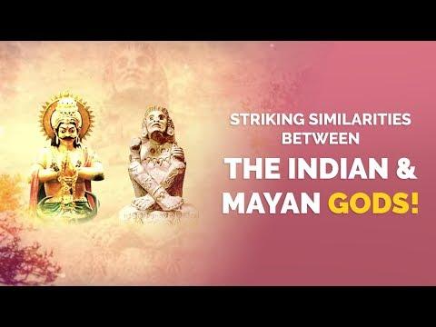 Amazing India - Striking Similarities Between The Indian & Mayan Gods! | Amazing India