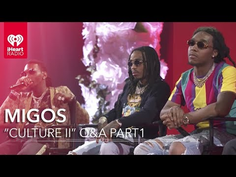 "Migos ""Culture II"" Part 1 Q&A at the iHeartRadio Theater"