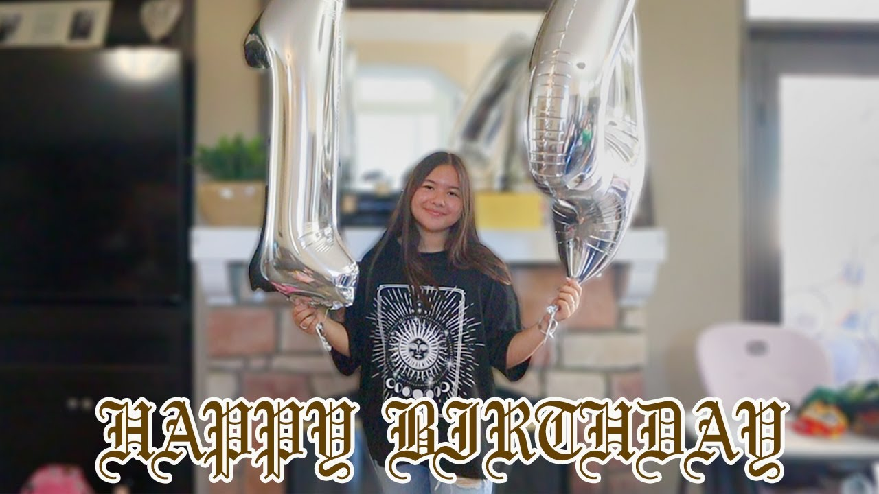OUR DAUGHTER'S 14TH BIRTHDAY!!!