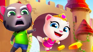 Talking Tom Gold Run - Unlock PRINCESS ANGELA (Talking Tom and Friends By Outfit)