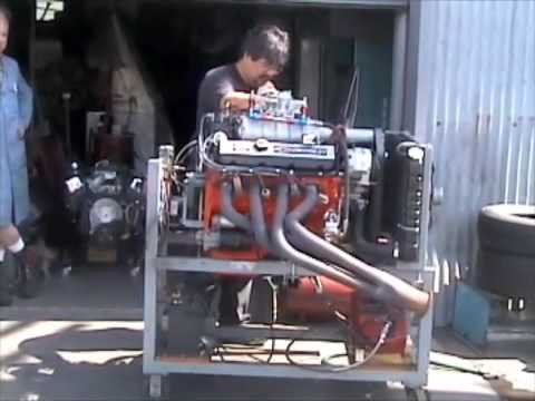Supercharged Chevy Big Block Youtube