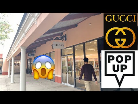 Secret Gucci Pop-up Outlet | LUXURY OUTLET SHOPPING | DISCOUNT GUCCI
