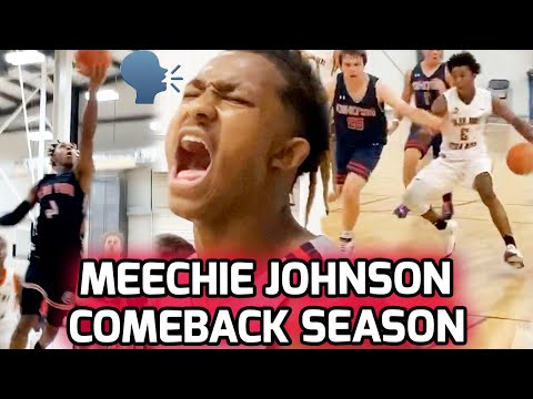 Ohio State Commit Meechie Johnson Returned From Torn ACL & RAN THE SHOW! Full Summer Mixtape 🔥  
