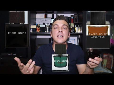 Шедевры парфюмерии Lalique Encre Noire Encre Noire Sport Encre Noire A L'Extreme парфюм