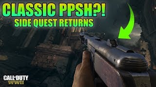 """WWII ZOMBIES - """"THE SHADOWED THRONE"""" CLASSIC PPSH TUTORIAL! SICK TREYARCH SIDE QUEST RETURNS"""