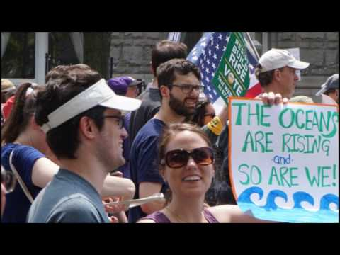 Peoples Climate March   Washington DC   29 April 2017
