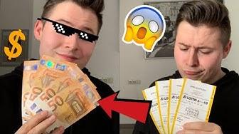 Papier zu Geld ERKLÄRT - Lotto Direktgewinn zum nachmachen 😍💰