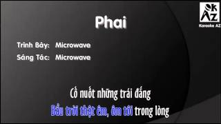 [Karaoke + Beat] Phai - Microwave