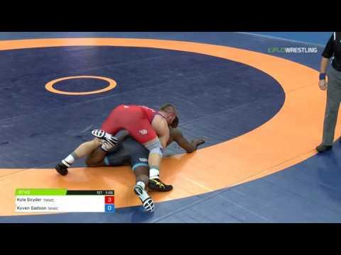 97 Round 1 - Kyle Snyder (TMWC) vs. Kyven Gadson (Sunkist Kids)